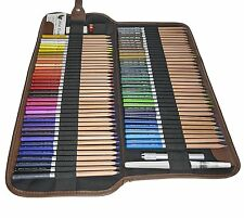 Jnw Direct Watercolor Pencils, Best Water Soluble Colored Pencil Set 72 Colors