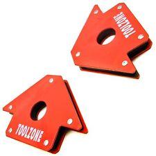 New 2 x 50lb Magnetic Magnet Arrows Welder Welding Holder 3 Angles Soldering