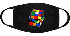 Rubik's Cube - Face Mask Adult Youth Fashion 2 Layers 100% Cotton Made in US