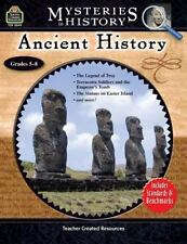 Ancient History Mysteries in History grades 5-8 (2005, Paperback, New) teacher