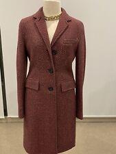 Jigsaw Wool Coat Sz 8