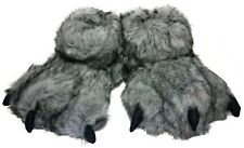 Halloween Soft Werewolf Furry Monster Sleepers Shoes Kids Boys Girls M/L 3-10