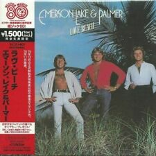 EMERSON LAKE & PALMER - LOVE BEACH 2008 K2HD REMASTERED JAPAN MINI LP CD
