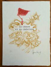 Jean Lurcat Listed Artist Signed Lithograph 7 La Fable du Monde Suite 1959