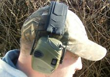 Green Elettronico Ear Defenders Comfort paraorecchie TIRO CACCIA PROTETTORI ORECCHIE