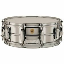 """Ludwig LB400B Supraphonic Chrome-Over-Brass 5""""x 14"""" Snare Drum, Imperial Lugs"""