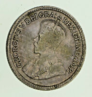 1920 Canada Silver 5 cents