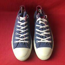 Converse Chuck Taylor Blue/ Red Ox Men's Shoes UK Size 8