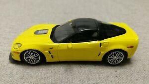 Chevy Corvette ZR1 2010 yellow (Luxury Collectibles) 1/43