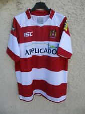 Maillot rugby WIGAN WARRIORS 2013 ISC shirt jersey home L