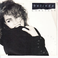 "BELINDA CARLISLE  Circle In The Sand  PICTURE SLEEVE 7"" 45 rpm vinyl record NEW"