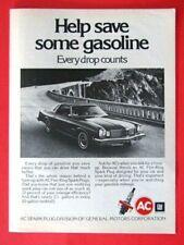 "1974 Oldsmobile Cutlass AC Original Print Ad 8.5 x 11"""