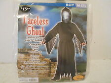 Boys Faceless Ghoul Halloween Costume - Size M (8) - NEW
