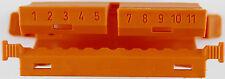 WAGO Befestigungsadapter f.2-5pol. orange 222-500   10 Stück