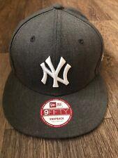 New Era New York Yankees 9Fifty  Grey Wool  Snap Back Adjustable Strap