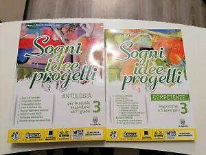Allegro Bosio SOGNI IDEE PROGETTI Antologia 3 + competenze + DVD Capitello ed.