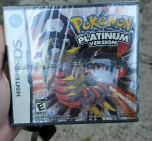 Jeux Pokémon Nintendo DS Platinum Pearl HeartGold SoulSilver White US Version