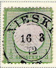 2 Number German & Colonies Postage Stamps