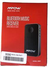 Mpow Bluetooth 5.0 Transmitter & Receiver Audio Adapte aptX Low Latency 18 Hours