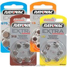 Hörgerätebatterie RAYOVAC EXTRA alle Typen 10 - 13 - 312 - 675