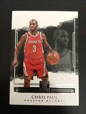 +++ CHRIS PAUL 2017-18 PANINI IMPECCABLE /99 NBA CARD #14 - HOUSTON ROCKETS +++