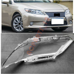 Right Side PC Clear Headlight Cover + Glue Replace For Lexus ES350 ES250 13-14