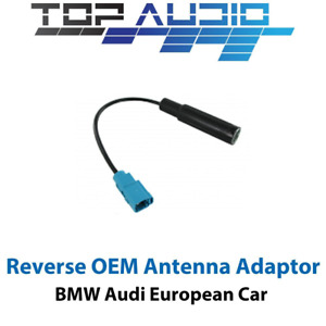 Euro Antenna Adapter Aerial Adaptor plug lead cable connector wire loom