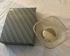 Home Décor, Silver Wire Basket
