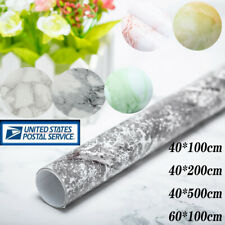 US Marble Contact Paper Self Adhesive Removable Wallpaper PVC Kitchen Countertop