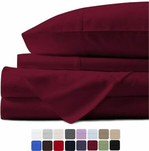 Mayfair Linen Hotel Collection 100% Egyptian Cotton - 500 Thread Count 4 Piece S