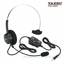 Genuine Yaesu SSM-64A VOX Headset Headphone for VX-6R FT-270R FT-277R Radio