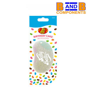 Jelly Belly BIRTHDAY CAKE 3D Gel Car Air Freshener A1763