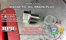 14mm OIL PUMP MAGNETIC OIL DRAIN PLUG REPLACES YAMAHA OEM PART 90340-14132-00