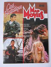 MAD MOVIES Magazine # 26  Mad Max , Dark Crystal etc.. 1983