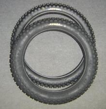 Honda  SL70 XL70 Tire Set 2.50 x 16 Front 2.75 x 14 Rear Kenda Trials Type