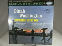 DINAH WASHINGTON September In The Rain1961 Mercury SR-60638 STEREO LP VG
