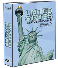 "HE Harris United States Liberty Stamp 3"" 2 POST Traditional BINDER ONLY (HEBDLIB"