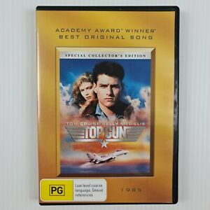Top Gun DVD - 2 Disc Special Collector's Edition - Region 4 - TRACKED POSTAGE