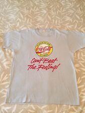 Vintage COKE 80's COCA COLA Classic Summer Pop Soda Screen Stars T-Shirt XL