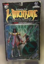 Vintage 90s Action Figur Witchblade SILVER NOTTINGHAM Top Cow 1998 OVP