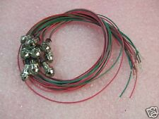 Lot of 48pcs - PT502TWGR4A-2VF-W18 Red Green Panel Mount Wired Led 5mm
