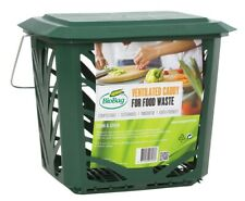 Kitchen Compost Caddy Food Waste Bin & 1 Roll of Bags BioBag - Free Delivery