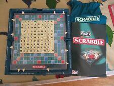 Travel Scrabble, Hard Case, complete in box