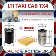 TX4 LONDON TAXI LTI OIL AIR FUEL FILTER SERVICE KIT BOSCH NEW TX ENGINE
