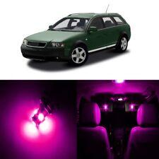 24 x Error Free Pink LED Interior Light Kit For 2001 - 2005 Audi Allroad + TOOL