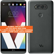 "LG V20 H910 4gb 64gb Quad Core At&t 5.7""Hd Screen B&O 4g Lte Unlocked Smartphone"