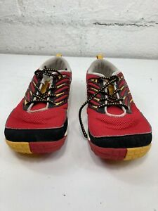 Merrell True Red Barefoot Trail Running Shoes  Size  6Y Black Red Minimalist