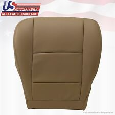 2001 To 2007 TOYOTA SEQUOIA Driver Bottom Leather Seat Cover Tan