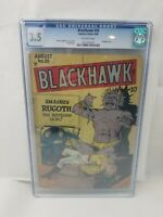 Blackhawk #20 CGC 3.5 VG- Off-White Pages Quality Comics 1948 Bondage Cover