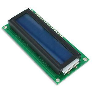 LCD Display 16x2 White on Black Backlight 5V Arduino Basic Stamp Microcontroller